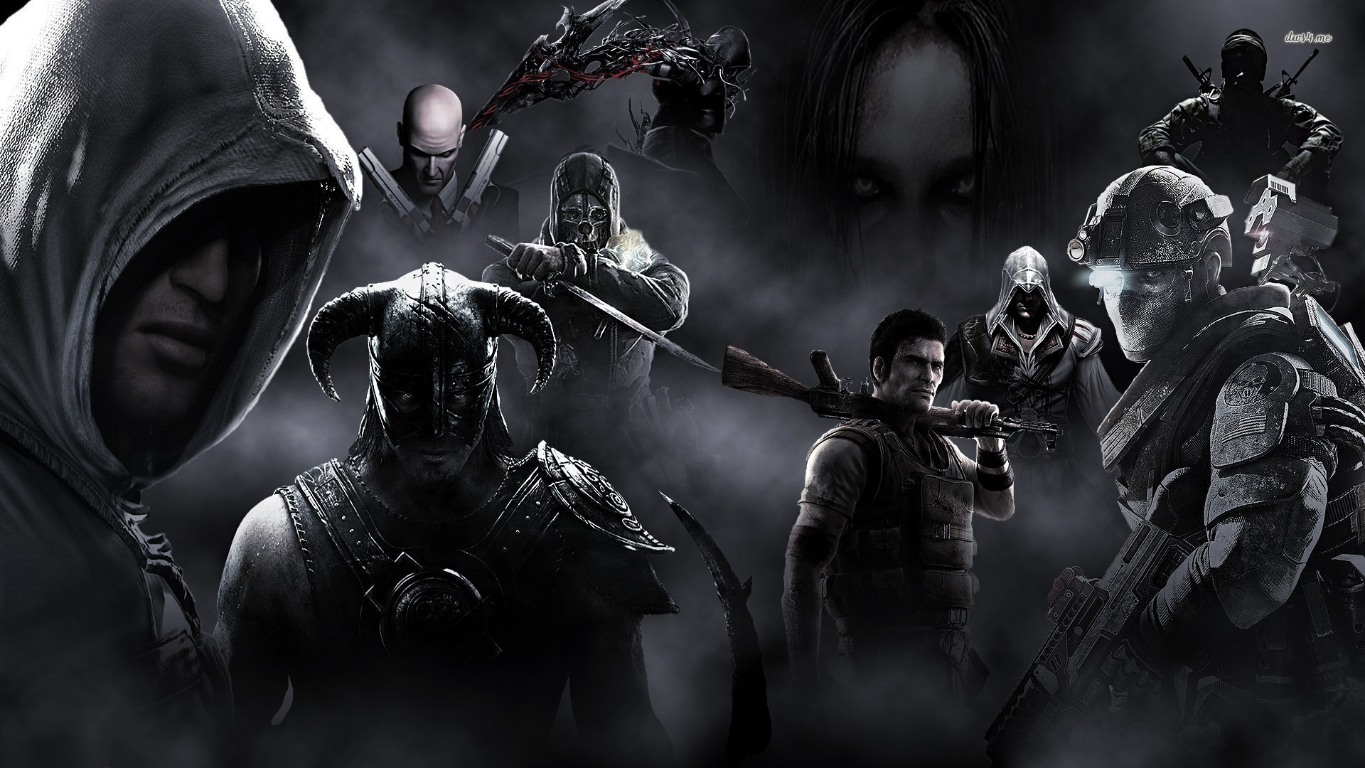 Video Game Characters Free Wallpapers For Desktop Roominvite - Video Game - HD Wallpaper