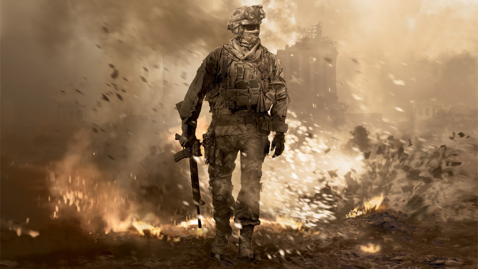 1920x1080, Full Hd Games Wallpapers Group   Data Id - Call Of Duty Hd - HD Wallpaper