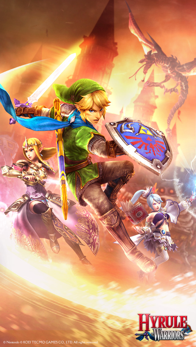 Hyrule Warriors For Nintendo Switch - HD Wallpaper