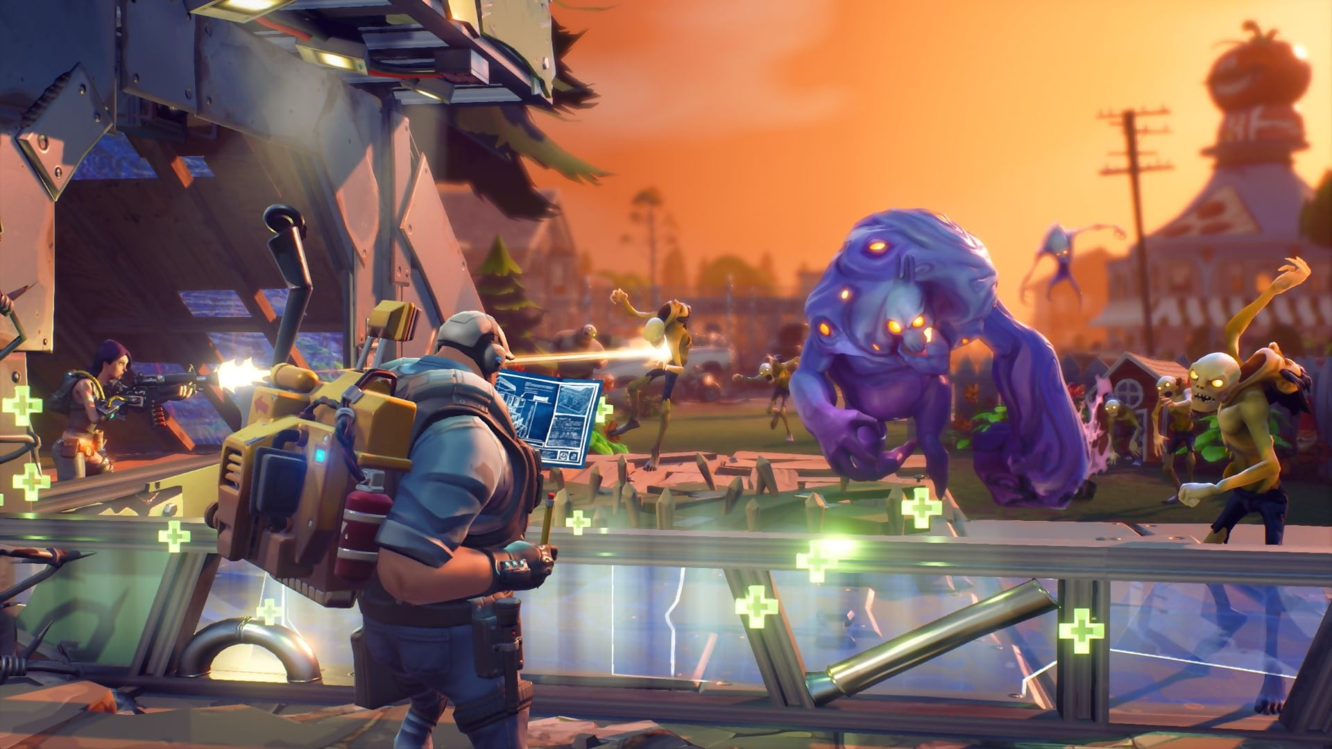 Fortnite Xbox One Gameplay 1920x1080 Wallpaper Teahub Io