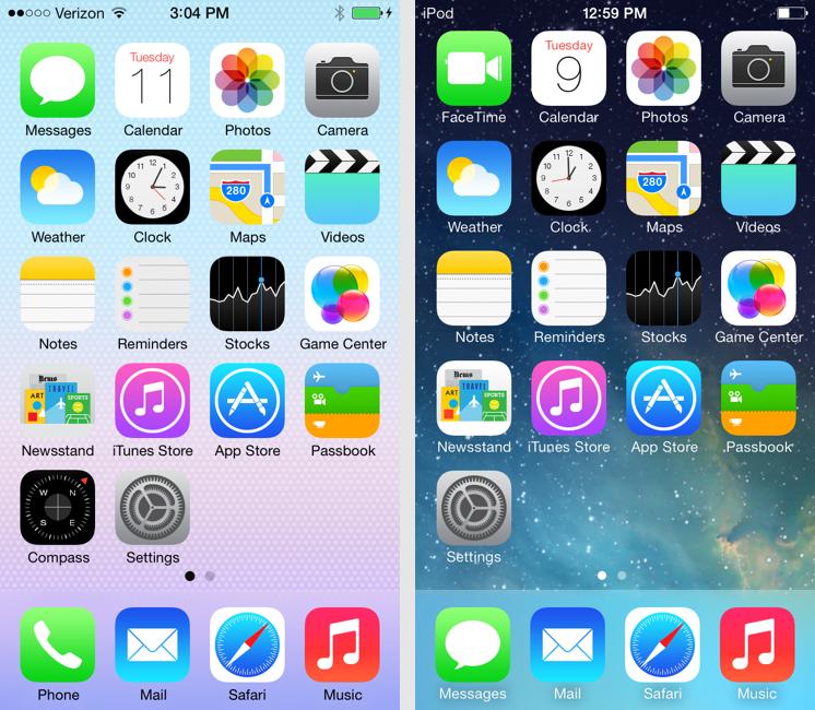 Iphone 7 Default Home Screen - HD Wallpaper