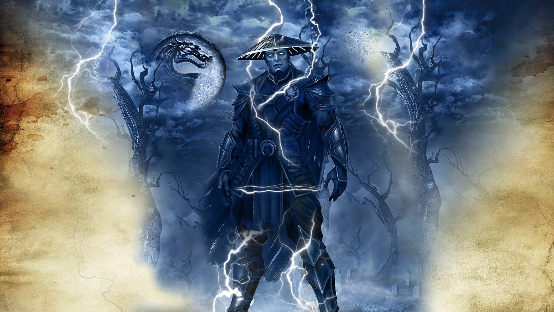 Mortal Kombat Raiden Wallpaper Hd 1920x1080 Wallpaper Teahub Io