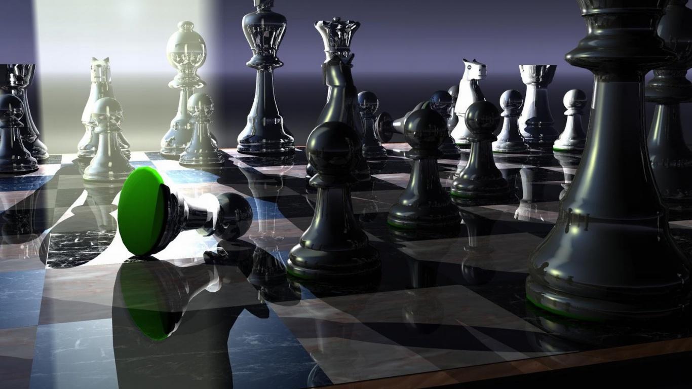 Chess Wallpapers Hd 3d 1366x768 Wallpaper Teahub Io