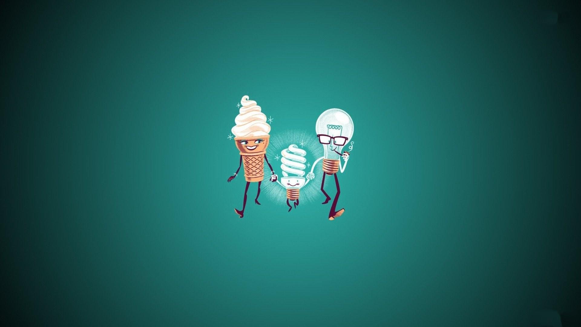 Hd Cute Ice Cream Photos Hd Desktop Wallpapers Smart - Illustration - HD Wallpaper