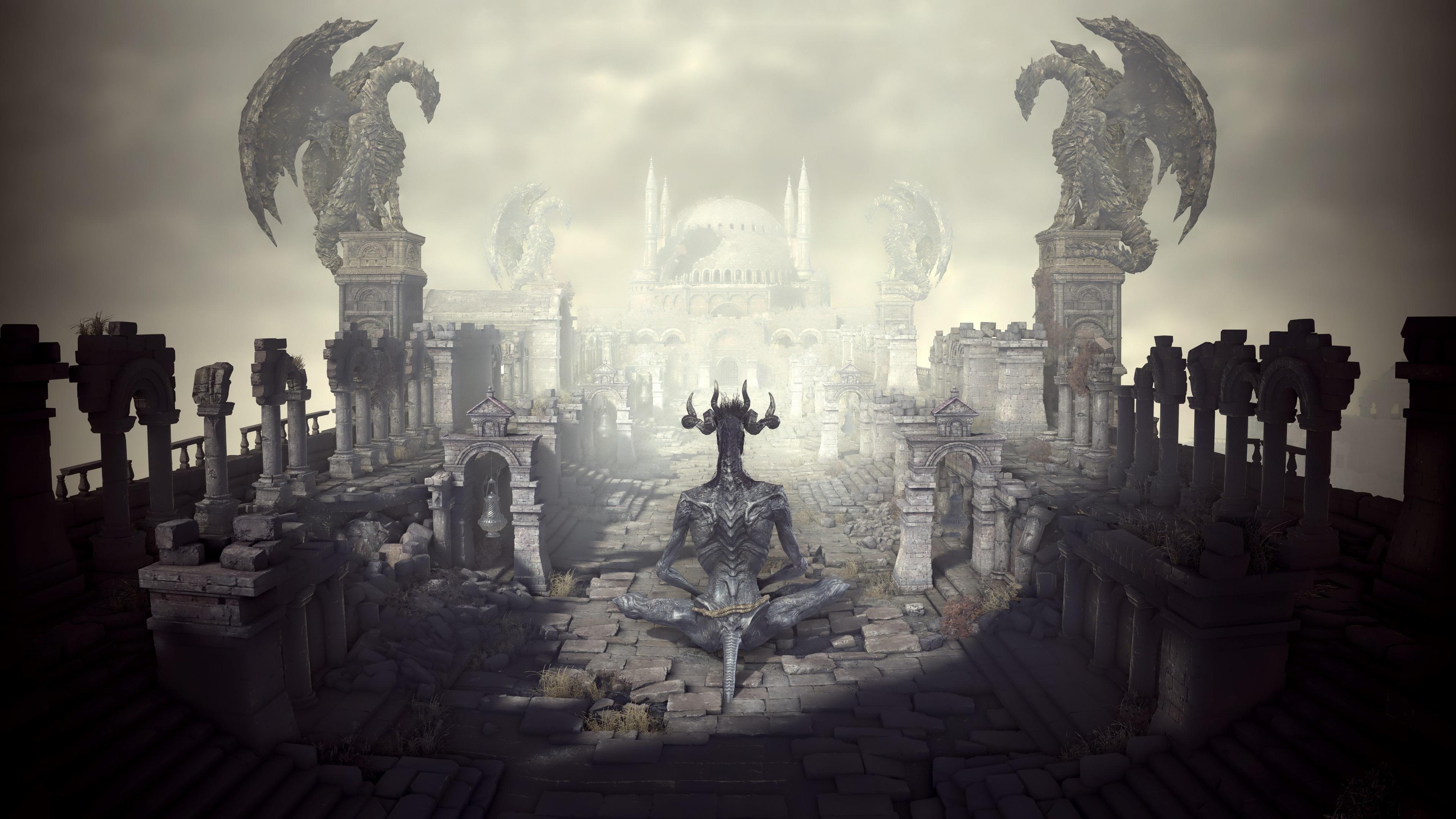 Dark Souls 3 Background 4k - HD Wallpaper