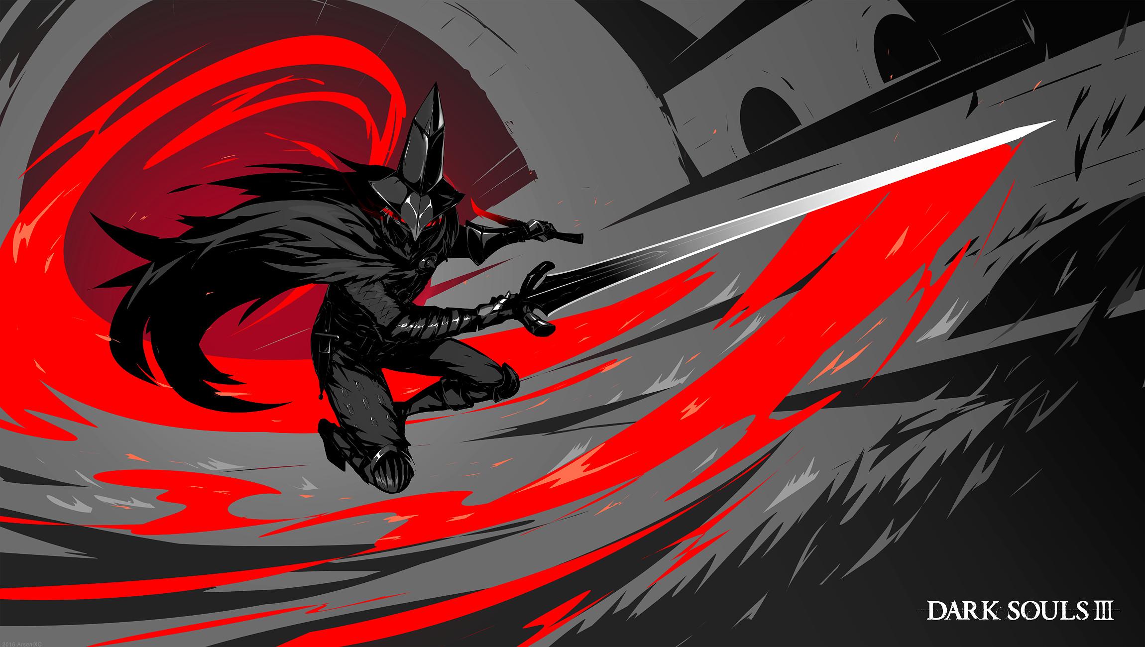 2300x1300 Tags Dark Souls 3 Abyss Watchers Boss Art 2300x1300 Wallpaper Teahub Io