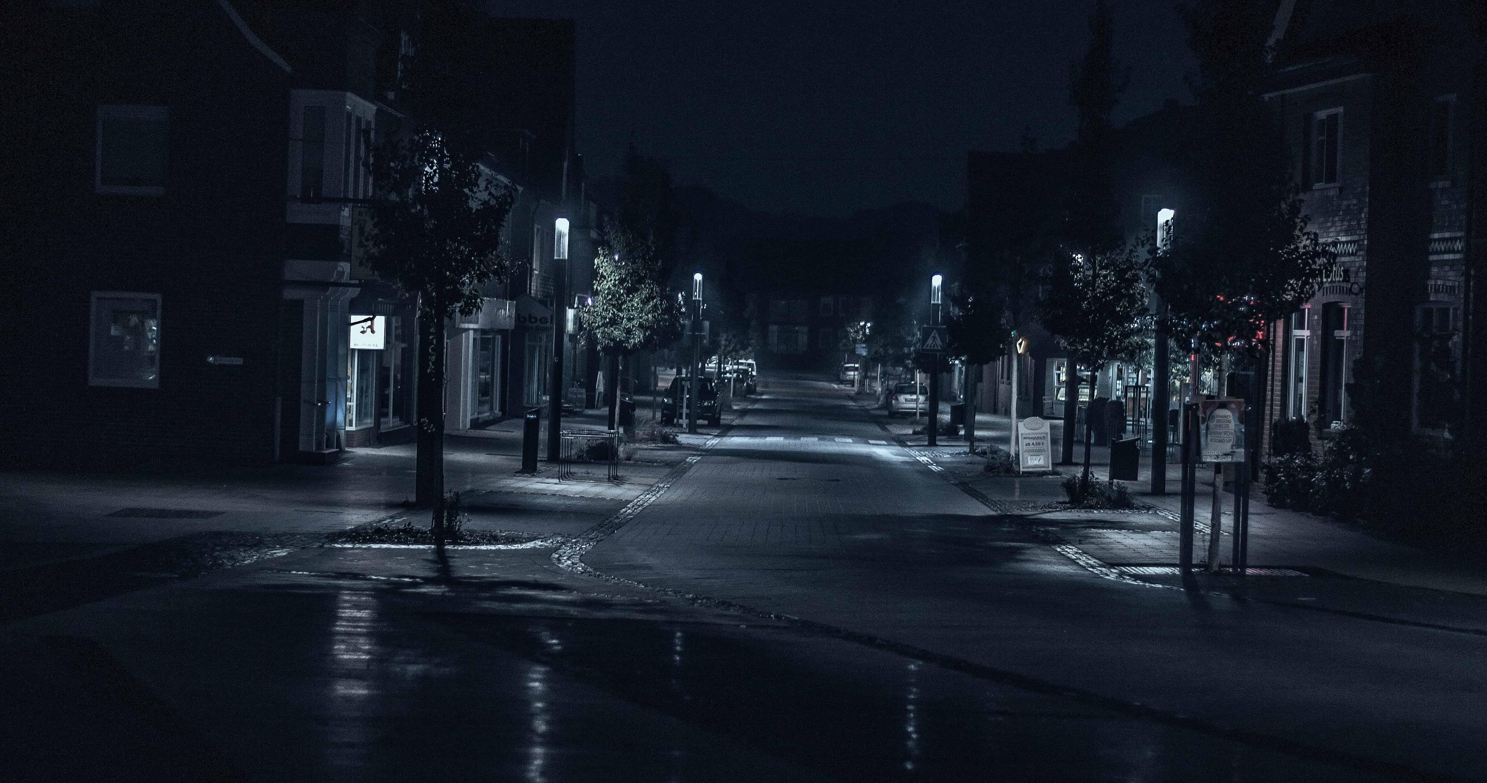 Beautiful Dark Wallpaper - Far Can Ring Doorbells See At Night - HD Wallpaper