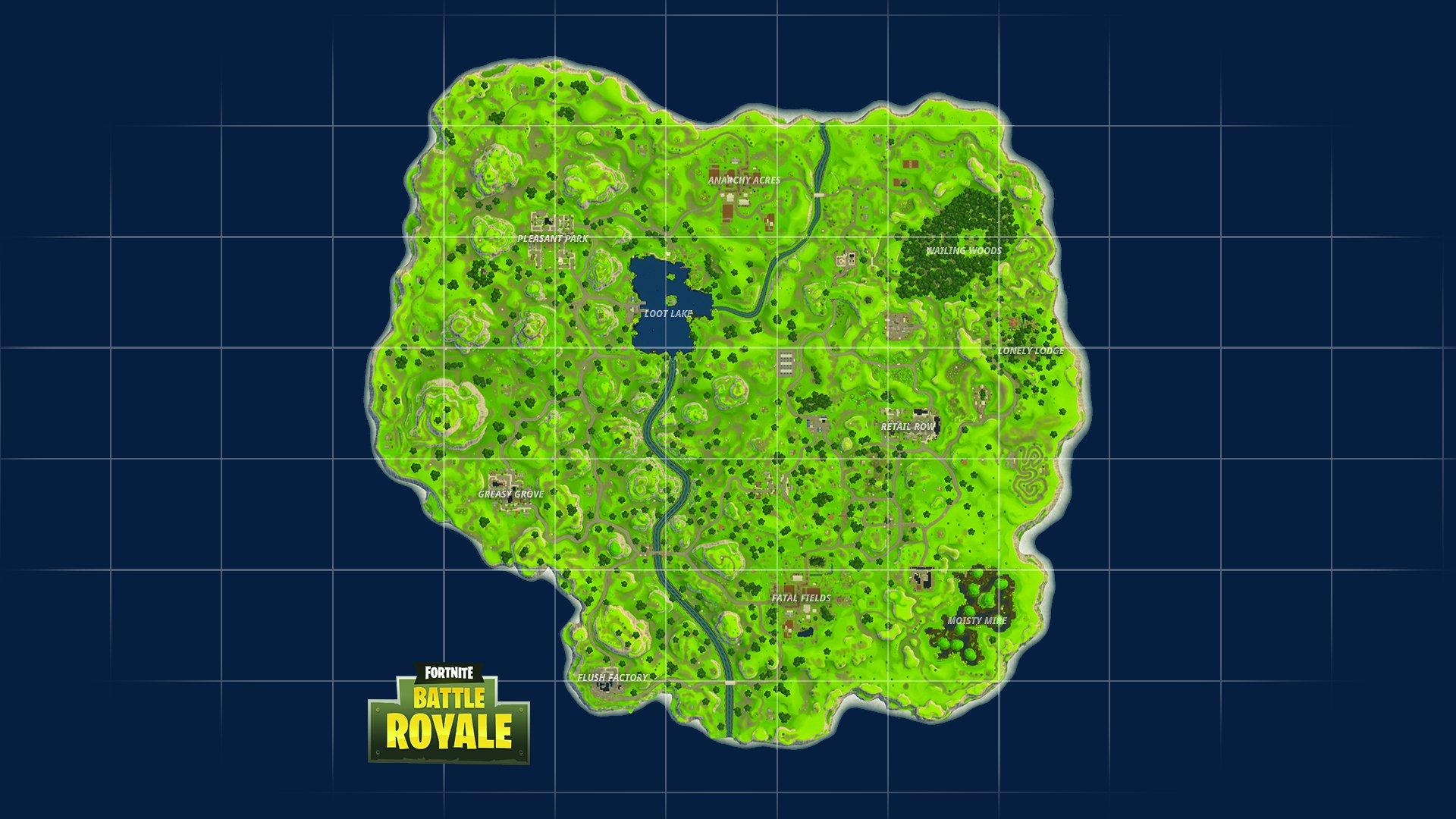 Fortnite New Map Battle Royale 1920x1080 Wallpaper Teahub Io