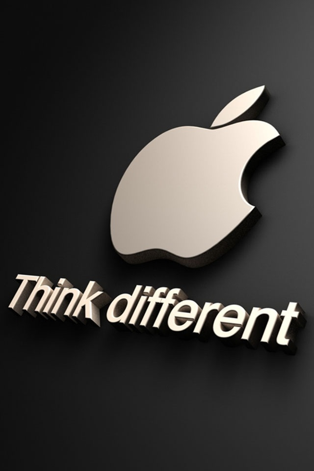 Apple Iphone Wallpaper Hd Wallpapers For Iphone 5 Apple - Iphone Apple Think Different - HD Wallpaper