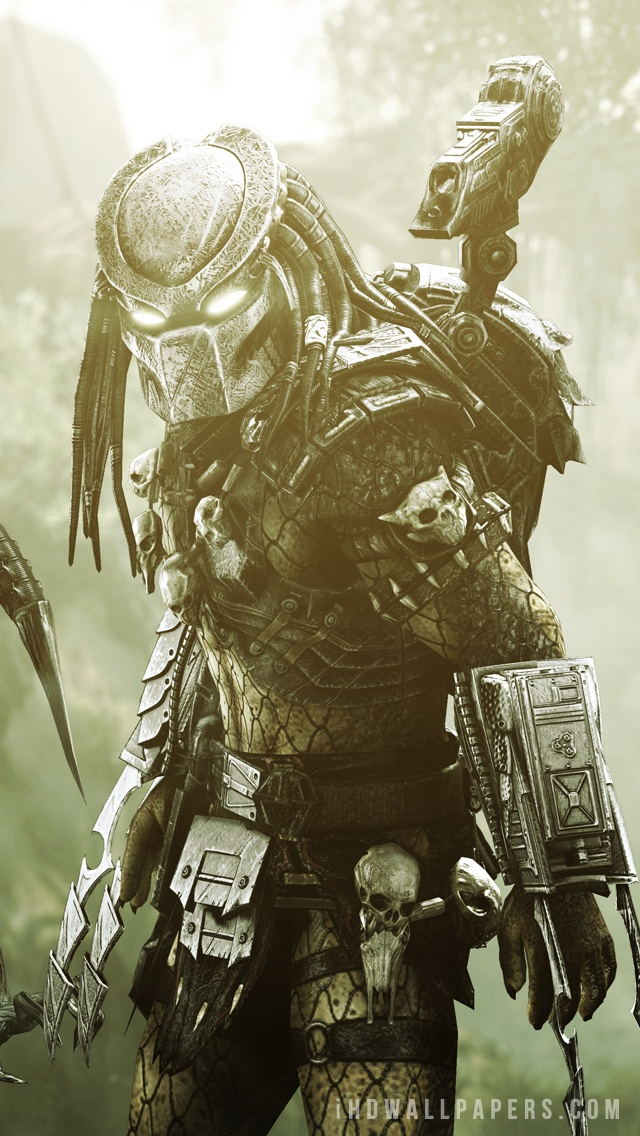 Predator Hd Wallpapers Backgrounds Wallpaper Alien Vs Predator Wallpaper Phone 640x1136 Wallpaper Teahub Io