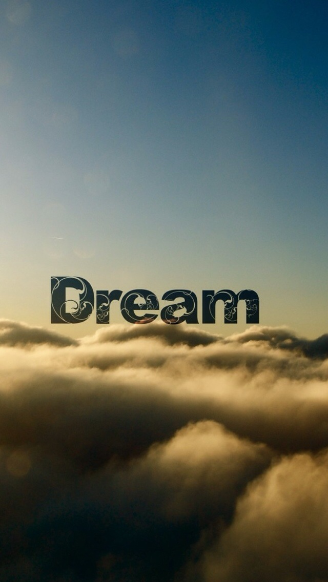 Iphone 5 Wallpaper Quotes - Dream Quotes Wallpaper Iphone - HD Wallpaper