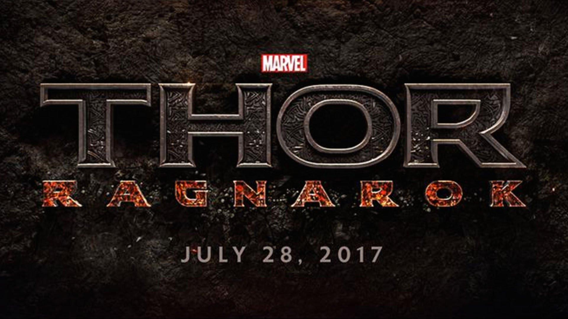 Thor 3 Ragnarok Wallpaper - Thor Ragnarok Movie Logo - HD Wallpaper