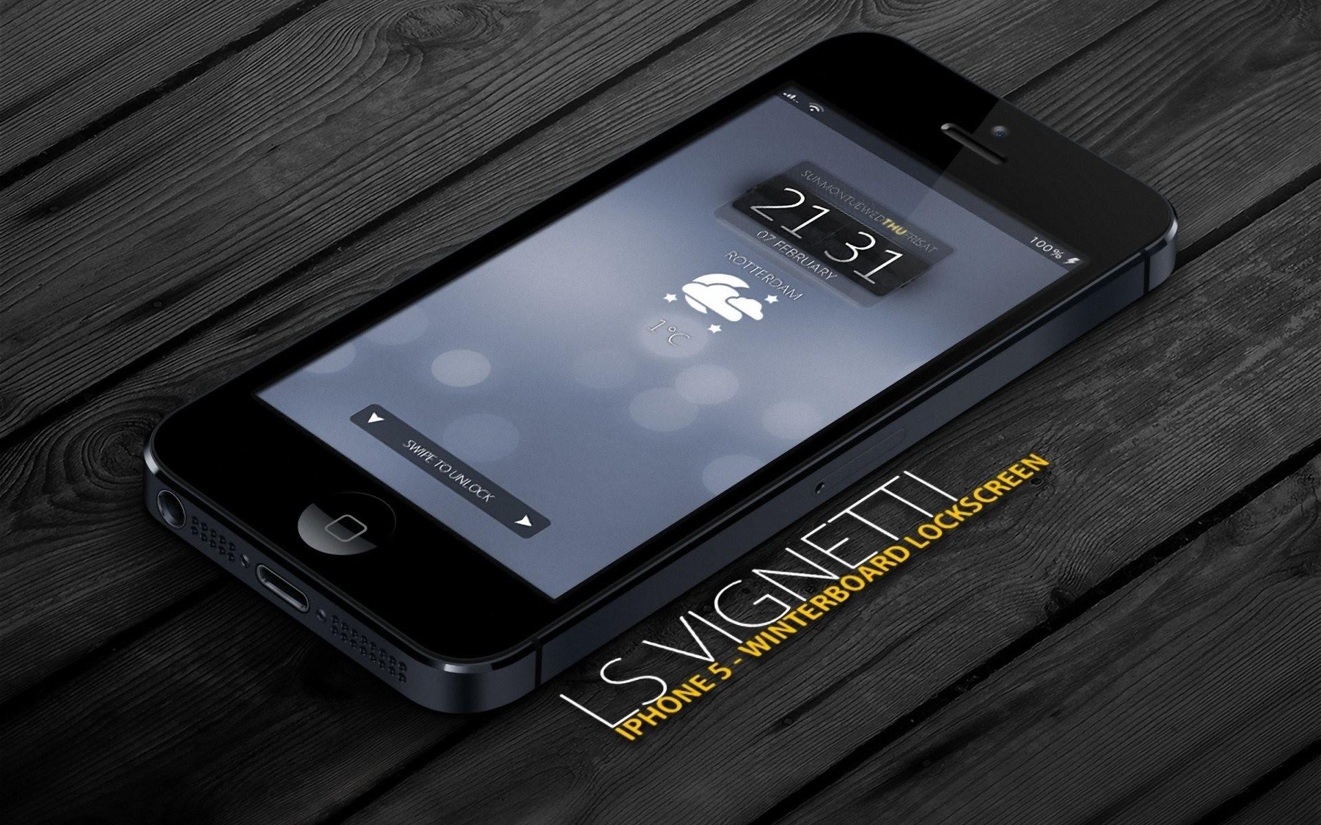 Iphone5 Black 3d Smartphone Times Wooden Floor Hd Wallpaper - Hd Wallpapers 1080p Iphone 5s - HD Wallpaper