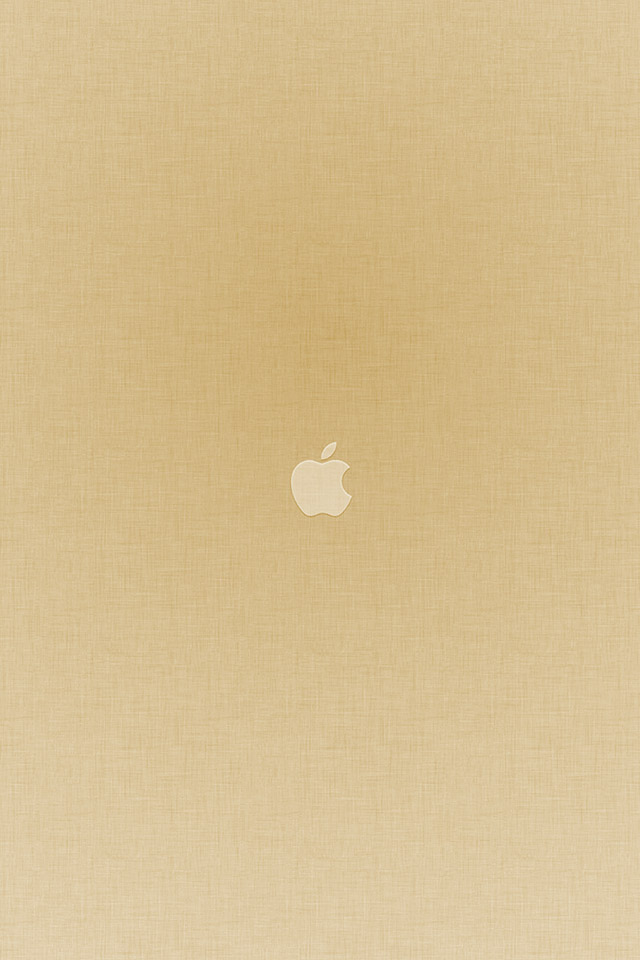 Com Apple Wallpaper Tiny Apple Gold Iphone4 - Iphone 6s Plus Wallpaper Gold - HD Wallpaper