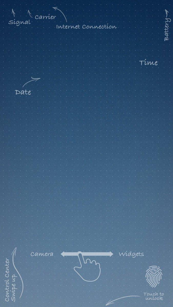 Blueprint Lockscreen Wallpaper Iphone - HD Wallpaper