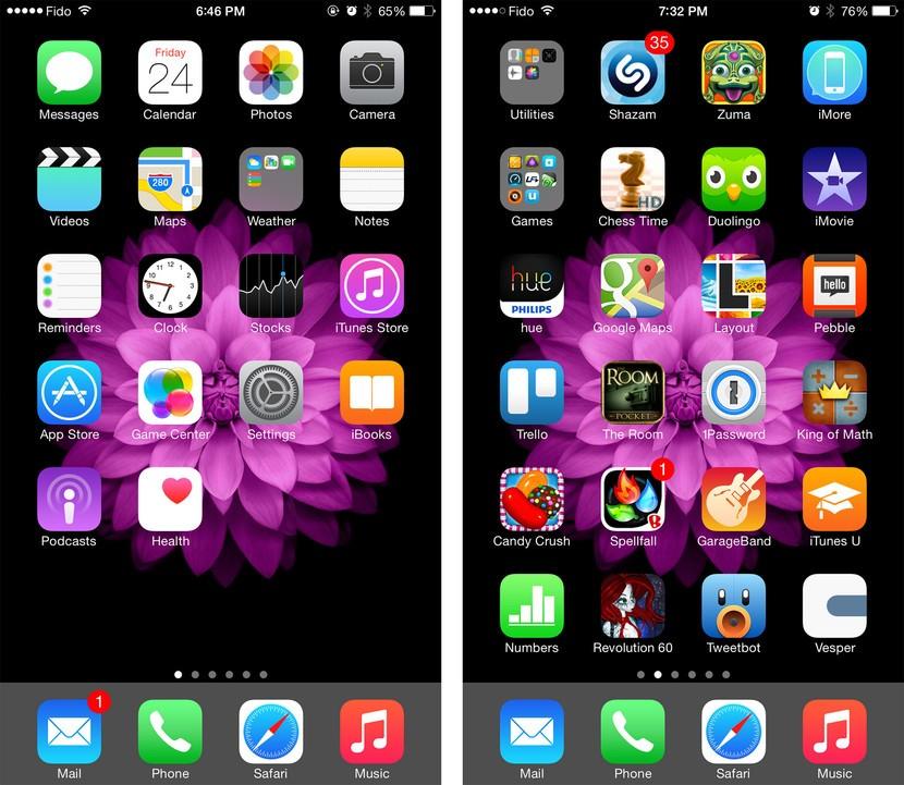 Iphone 2nd Home Screen - HD Wallpaper